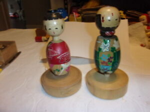 Large wooden vintage Chinese Dolls $45.00