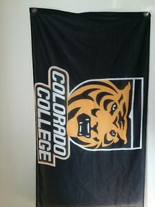 Large Colorado College Flag Banner 35x60 $24.99