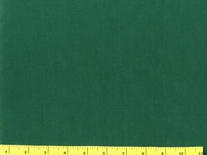 Dark Hunter Green Solid Quilting amp; Sewing Fabric by Yard #2002 $5.95