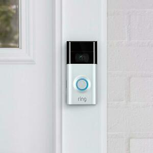 Ring Video Doorbell 2nd GEN Wi Fi Motion Activated Video 1080 HD All Colors