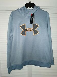Womens Under Armour Hoodie Large Loose Fit COLD GEAR NWT $24.99