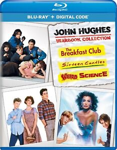 John Hughes Yearbook Collection Blu ray NEW $14.99
