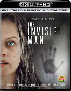 The Invisible Man UHD Elisabeth Moss NEW