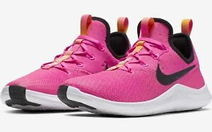 Nike Womens Free TR 8 Training Shoes Pink White Black Orange 942888 601 NEW $62.99
