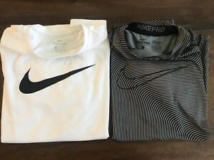 Boys Nike Shirts Lot Of 2 Sizes L and XL $19.99