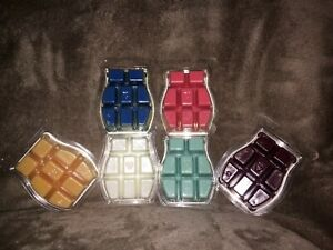 Scentsy Wax Bars New 3.2 fl. oz. net wt 2.6 oz 74 g Current Scents