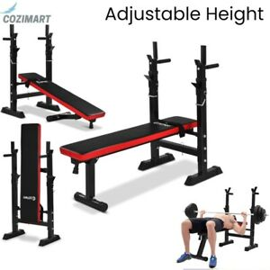 Weight Bench Folding Lifting Flat Incline Adjustable Ab Abdominal Home Gym 440lb $269.99