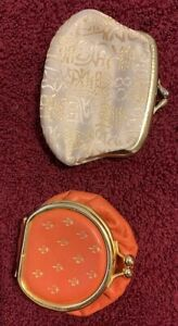 TWO VINTAGE COIN PURSES $22.00