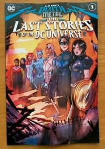 Dark Nights: Death Metal: The Last Stories of the DC Universe Main Cover 12 8 $4.73