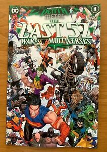Death Metal: The Last 52: War of the Multiverses 1 Main Cvr DC NM 12 29 PreSell $4.73