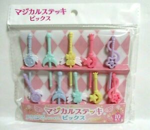 Lunch box Bento Decoration Food Pick Picks Magical stick 10pcs From japan $4.49