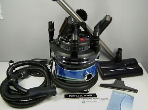 Filterqueen MAJESTIC Canister 360 VACUUM CLEANER Complete amp; Near Mint Condition