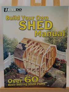 UCanDO Build Your Own Shed Manual by Hda Inc Barn Plans Idea Info to Build