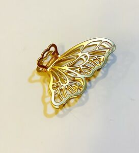1 Pc of Jaw Clip Hair Clip Metal In Gold Tone Butterfly Design $9.99