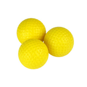 Yellow Foam Practice Golf Balls Available in 12 24 or 36 Count $15.95