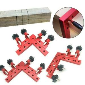 L Shaped Auxiliary Fixture Positioning Fixed Clip Square Ruler Woodworking Tool $55.06