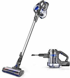 MOOSOO Cordless Vacuum 4 in 1 Powerful Suction Stick Cleaner for Home Hard Floo