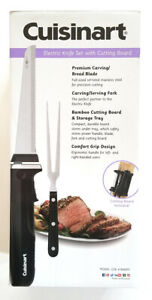 Cuisinart CEK 41 Electric Knife Set New with Cutting Board Fork NEW
