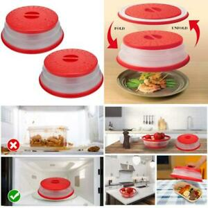 Collapsible Microwave Splatter Cover Microwave Cover For FoodDishwasher SafeBp