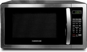 Farberware 1.1 Cu. Ft. Stainless Steel Countertop Microwave Oven 1000W FreeShip