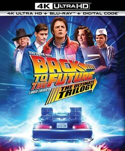 Back to the Future Trilogy UHD Michael J. Fox NEW