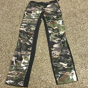 New NWT Women#x27;s Under Armour Early Season Field Camo Pants Hunting Size 4 Fitted