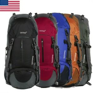 Waterproof Lightweight Hiking Backpack Camping Backpack with Rain Cover Sport