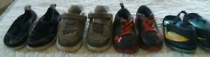 Lot of 4 pair Fun Sport Toddler Boys Shoes Size 5 5 1 2 Under Armour Pre Owned $8.95