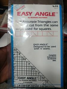Easy Angle quilting crafts $1.50