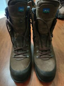 Cabela#x27;s Meindl Insulated Gore Tex Hunting Boots Brown Men#x27;s Size 13