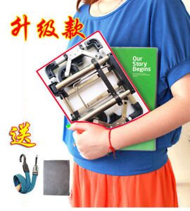 Mini stainless steel portable folding shopping cart trolley car small trailer