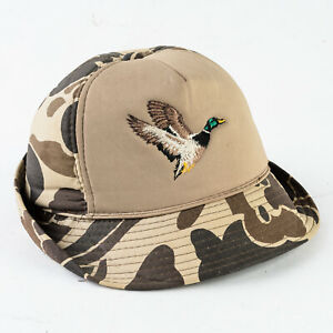 Vintage Winchester Hunting Hat with Duck Camouflage