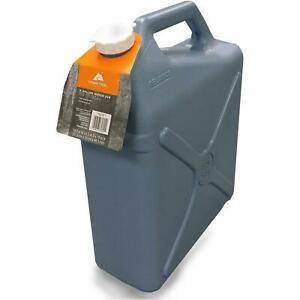 6 Gallon Water Carrier Jug Jerry Can Style Plastic Container Camping Heavy Duty