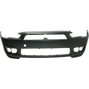 Front Bumper Bumper Cover For 2008 2015 Mitsubishi Lancer with w Air Dam Holes $104.60