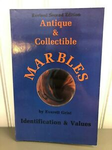 Antique and Collectible Marbles Identification and Values Everett Grist 1988 PB $4.99