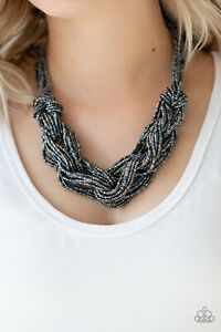 City Catwalk Blue Necklace By: Paparazzi