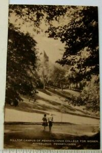 1940s? Pennsylvania College For Women Postcard Hilltop Campus Women Pittsburgh $11.99