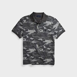 Nautica Mens Classic Fit Camouflage Polo