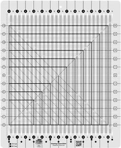 Creative Grids Stripology Squared Quilt Ruler CGRGE2 $49.99