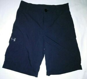 Boys Under Armour Loose Cargo Shorts sz youth medium $14.00