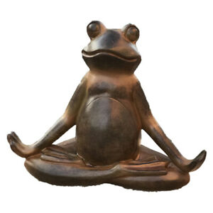 Pacific Giftware The Inner Peace of A Frog Yoga Toad in Meditation Figurine
