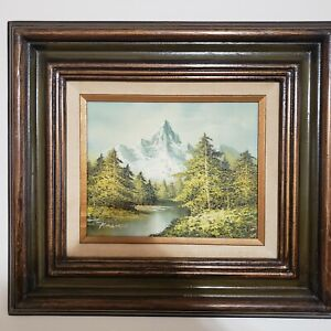 1981 KINGMAN Original Oil Signed Framed Certified quot;Spires to the Skyquot; 8x10 $299.99