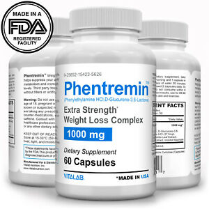 Phentremin® Extra Strength Weight Loss Complex Appetite Suppressant 37.5