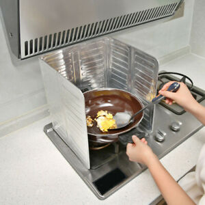 Cooking Frying Oil Splash Screen Cover Anti Splatter R1D3 Shield Kitchen P5C0 C $8.35