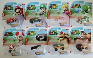 HOT WHEELS SUPER MARIO CHARACTER CARS *BRAND NEW* $9.99