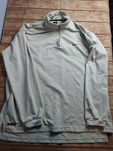 Nike Fit Long Sleeve Quarter Zip Pullover XL $15.00