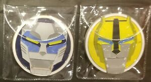 Voltron BLUE amp; YELLOW Lions Large 3quot; Challenge Coin Set of 2 NYPD