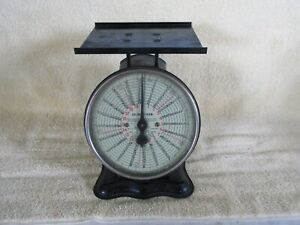 Antique Scale Postal American Cutlery Company 20 Pounds Nice Rustic Look $68.50