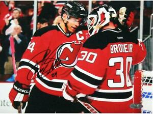 Bryce Salvador Signed New Jersey Devils 8x10 Photo with Martin Brodeur $20.99