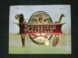 Brass Harry Potter Quidditch RED Captain Jumbo Kings Cross Station Pin Badge $16.75